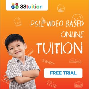 PSLE video based online tuition